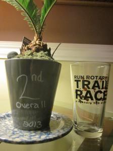 Rotary Park Trail Run prizes!